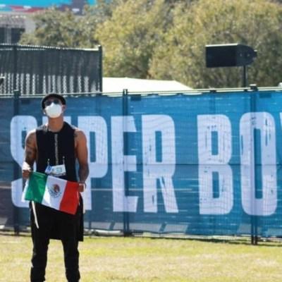 Él es Mike Bautista, el mexicano que bailó con The Weeknd en el Super Bowl