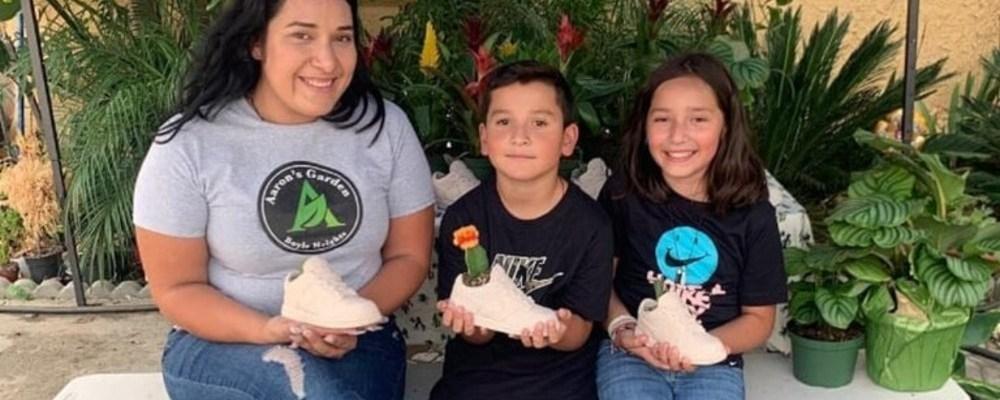 Niño mexicano pone negocio en Los Ángeles para sacar adelante a su familia