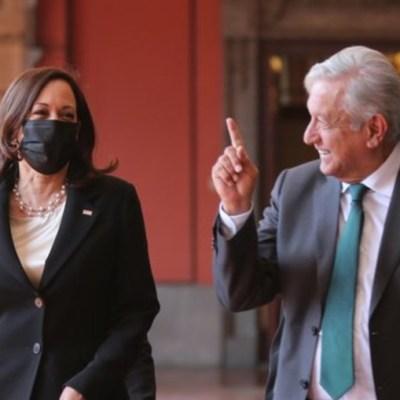 Harris expresó a AMLO su preocupación por la corrupción en México
