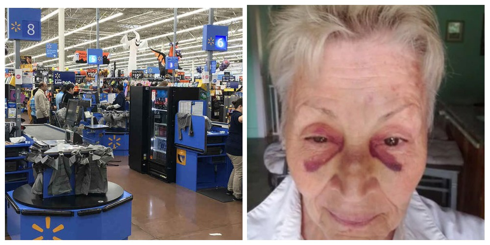 Empleada de Walmart golpea a abuelita que pidió hablar con el gerente