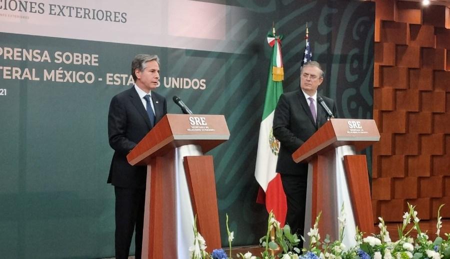 México y EU anuncian nuevo plan de cooperación en seguridad