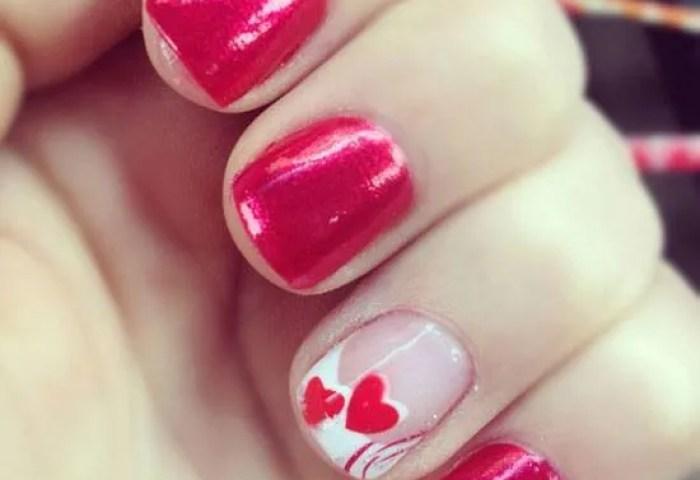 De 60 Diseños De Uñas San Valentín 2019 Que Te Encantarán
