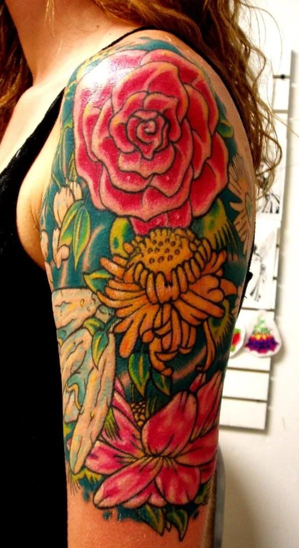 Tendencias En Tatuajes Para Mujeres 2015 Esbellezacom