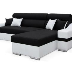 Ebay Uk Leather Corner Sofa Bed Jonathan Table Magma Maxi Faux Or Fabric Left