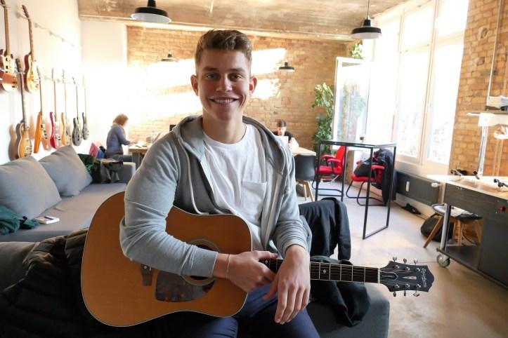 Gregor Hägele Unser Lied für Israel Deutsche Vorentscheidung 2019 Song Writing Camp