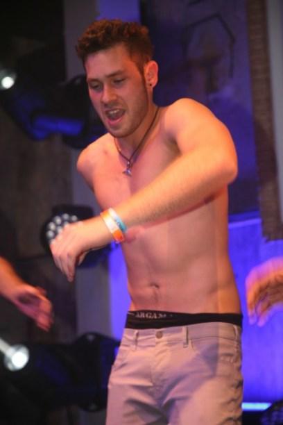 PR Photoset OGAE Germany Clubtreffen 2019 Muenchen - Flashback Imri als Golden Boy 2015 live on stage im Euroclub Israel Party