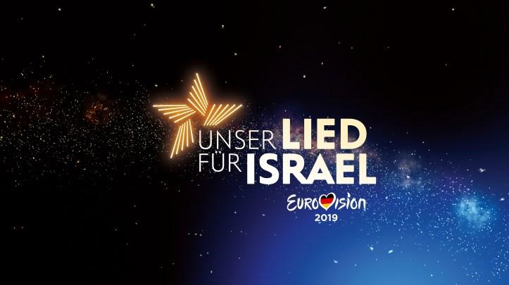 Unser Lied für Israel Logo Deutsche Vorentscheidung 2019 ESC