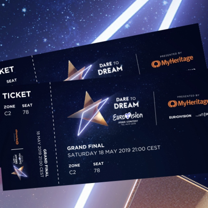 Eurovision Song Contest 2019 ESC Tel Aviv Israel Tickets