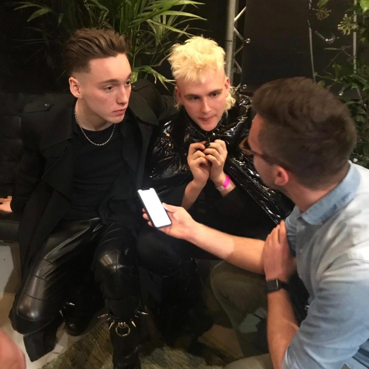 Hatari im Interview mit Benny Island ESC 2019 Eurovision