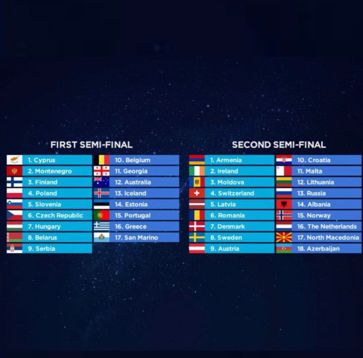 esc 2019 halbfinale