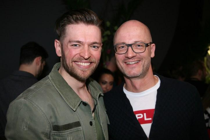 EiC 2019 Serie 1 Eurovision in Concert Amsterdam Jurij Veklenko aus Litauen mit DJ Douze Points