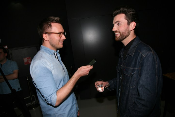 Eic 2019 The Interview Sessions Blogger Benny im Interview mit Eurovision Song Contest Künstler Duncan Laurence