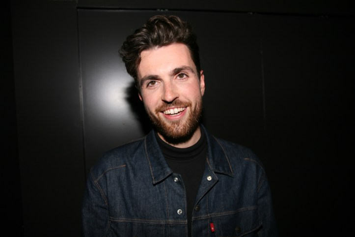 Eic 2019 The Interview Sessions Duncan Laurence The Netherlands nach dem Interview mit BennyBenny
