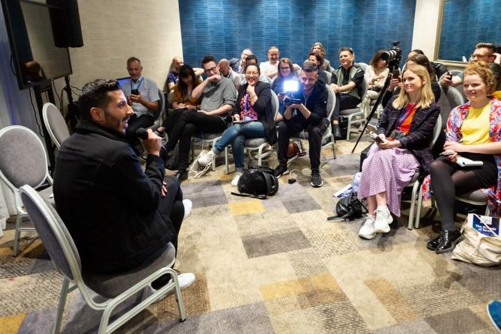 Kobi Marimi im Interview in Tel Aviv Israel ESC 2019 Eurovision