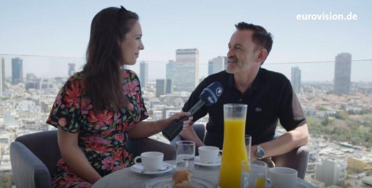 Alina Stiegler Thomas Mohr Der Tag danach ESC 2019 Eurovision 2