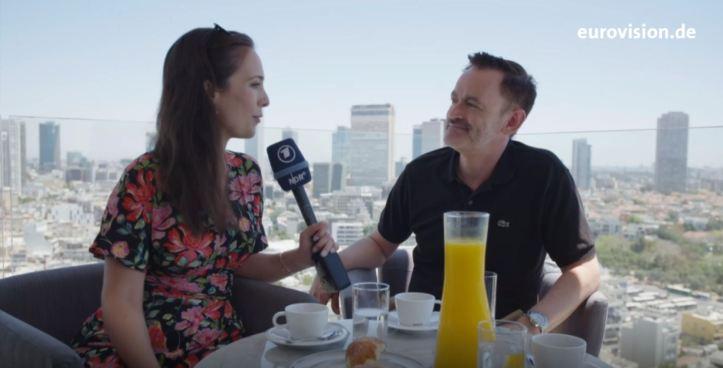 Alina Stiegler Thomas Mohr Der Tag danach ESC 2019 Eurovision