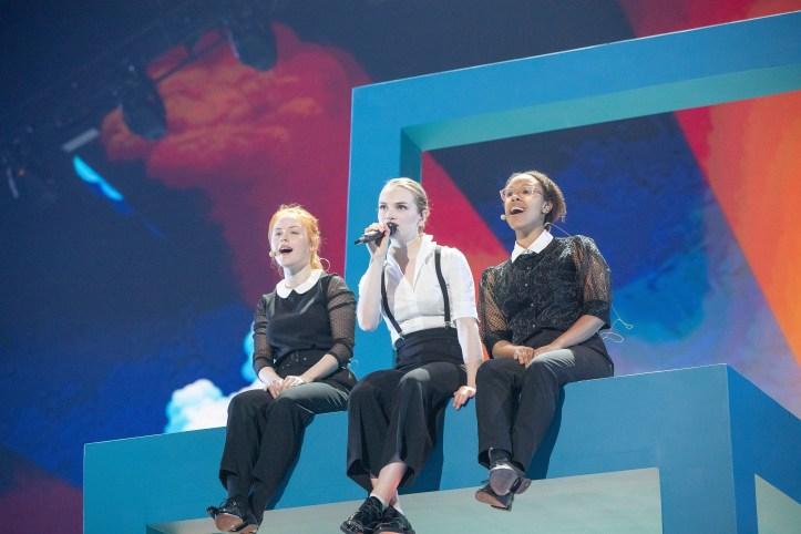 Erste Probe Dänemark Leonora Love Is Forever ESC 2019 3