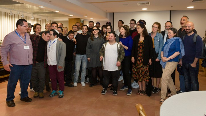 Shalva Band ESC 2019 Eurovision Jerusalem Tel Aviv Pausenact Semi 2 (4)