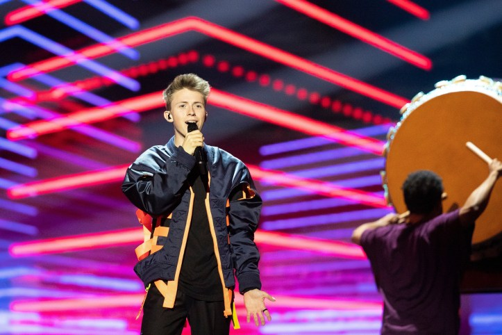 Zweite Probe Belgien Eliot Wake Up ESC 2019 2