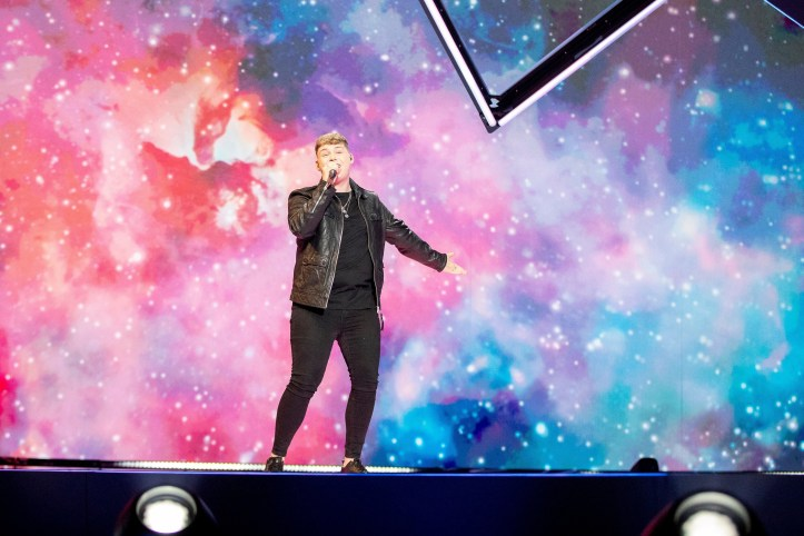 Zweite Probe Großbritannien Michael Rice Bigger than Us ESC 2019