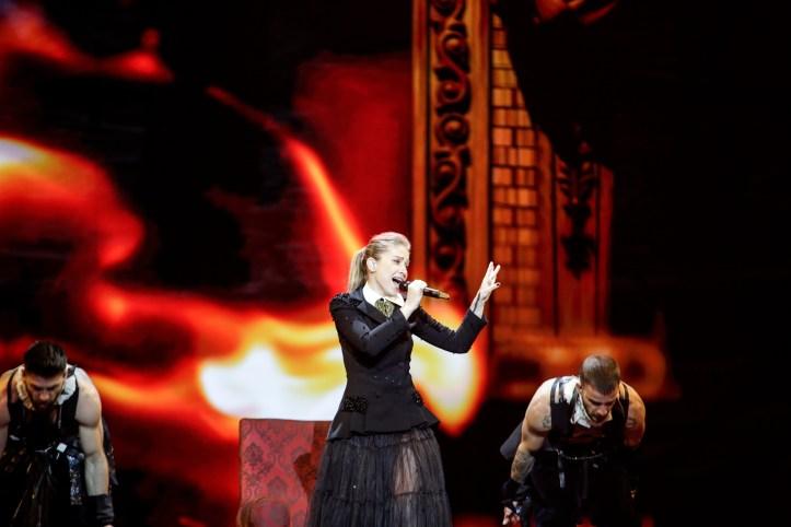 Zweite Probe Rumänien Ester Peony On A Sunday ESC 2019 3