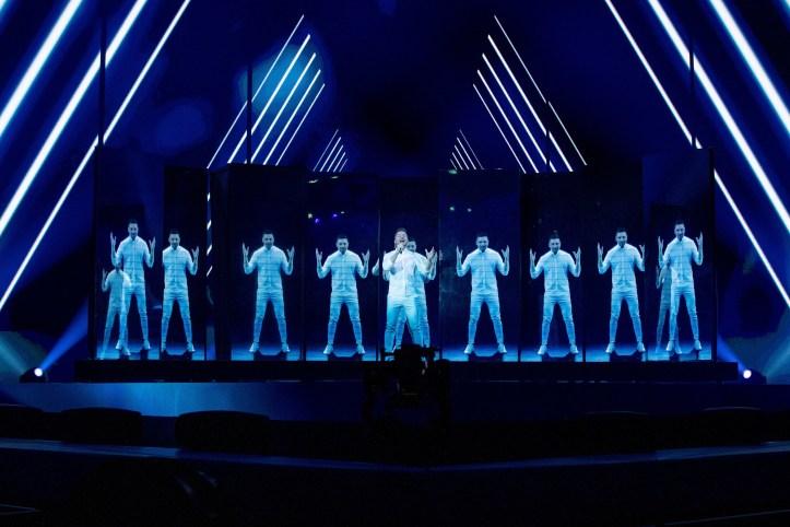 Zweite Probe Russland Sergey Lazarev Scream ESC 2019 2