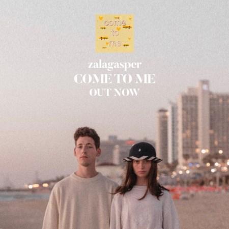 zalagasper Come With Me Single Cover Eurovision ESC