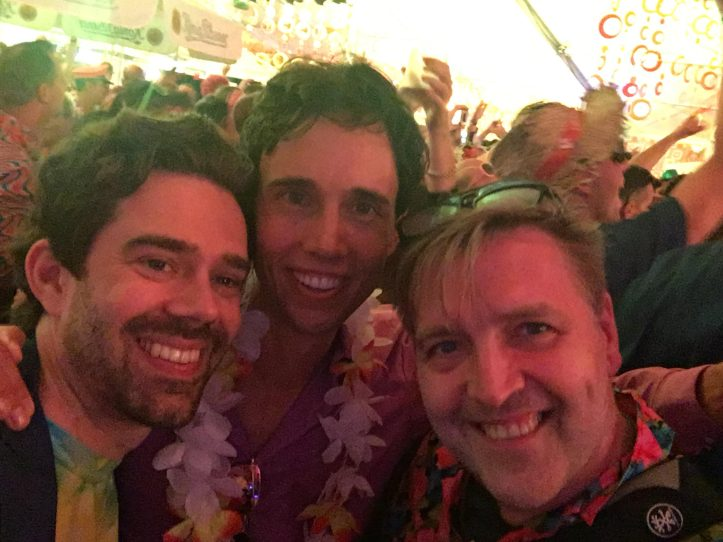 HH Schlagermove 2019 ESC Hits Felix, Christian, Blogger Peter