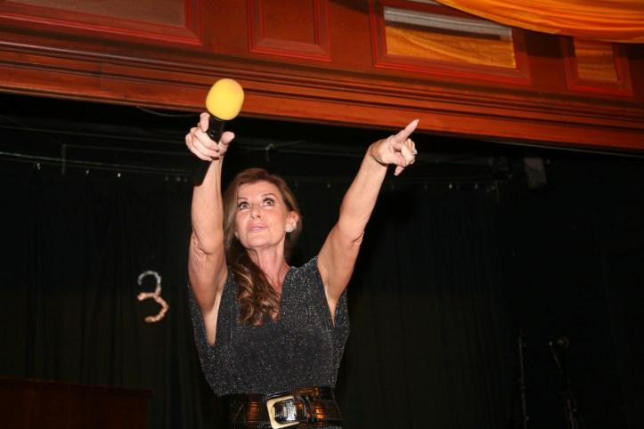 Clubtreffen 2017 OGAE MUC Linda Martin rocks the Wirtshaus zum Isartal