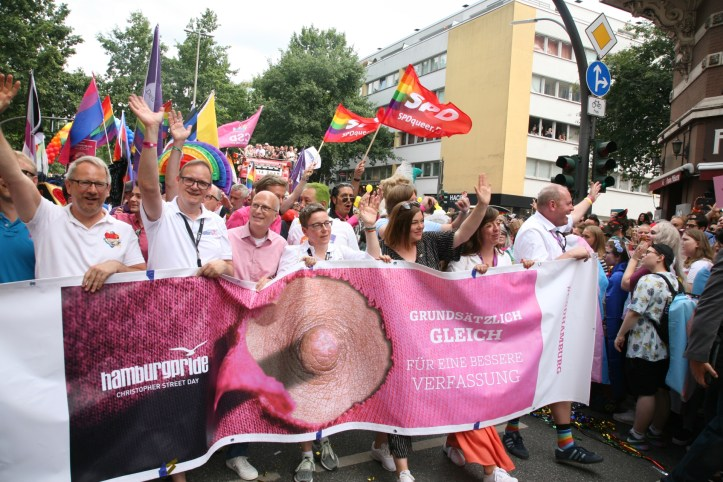 Encore CSD Hamburg 2019 Die schoensten Photos für ESC kompakt Front row Parade