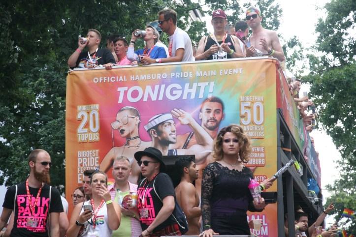 Encore CSD Hamburg 2019 Die schoensten Photos für ESC kompakt Pink Pauli Festival