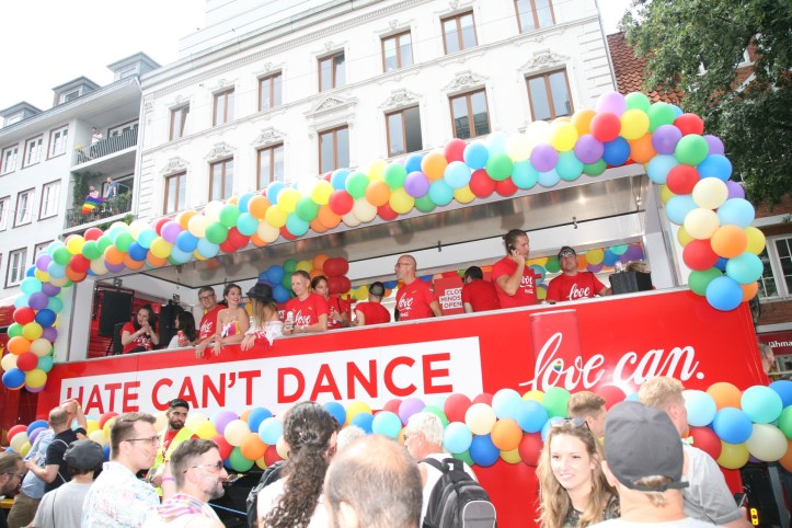 Encore CSD Hamburg 2019 Die schoensten Photos für ESC kompakt hate can´t dance love can