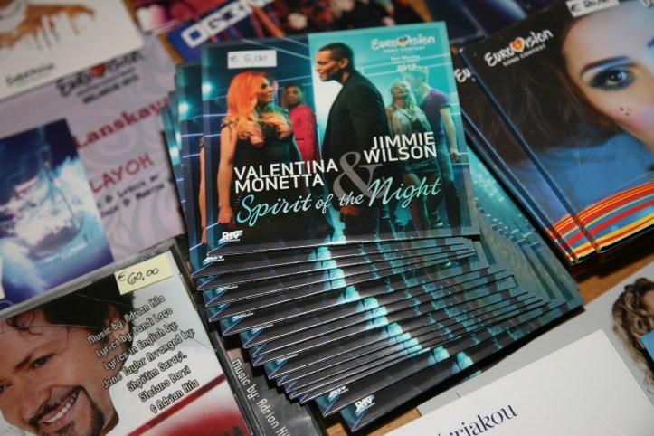 OGAE Clubtreffen 2018 MUC Not so much Bestseller auf der Plattenboerse
