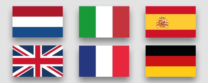 Eurovision-2020-Flaggen-Big6-Frankreich-Italien-Spanien-UK-Niederlande-Deutschland-Rotterdam