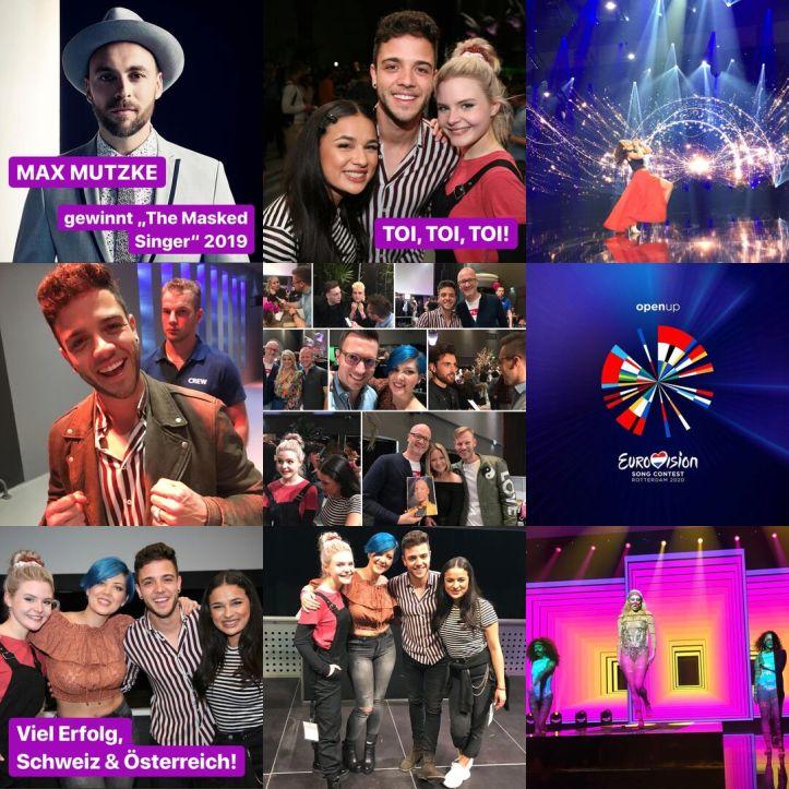 ESC kompakt 2019BestNine Instagram Eurovision 2019