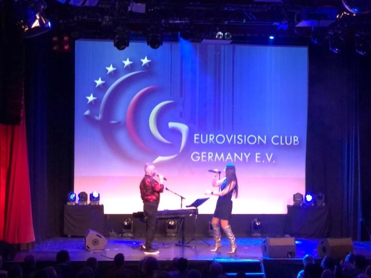 Fanclubtreffen ECG Eurovision Club Germany 2019 Paula Seling & Ovi
