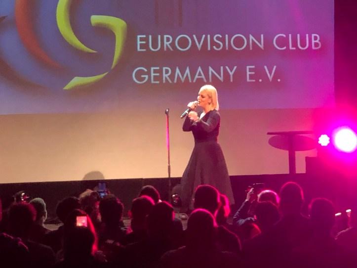 Fanclubtreffen ECG Eurovision Club Germany 2019 Tamara Todevska