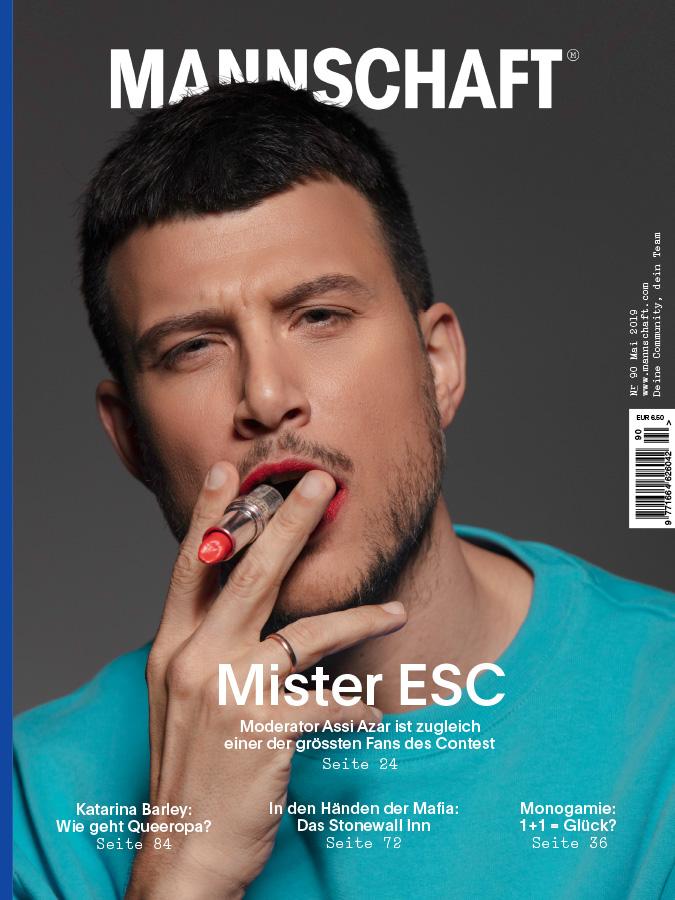 Cover Mannschaft Magazin Mai 2019 mit Assi Azar