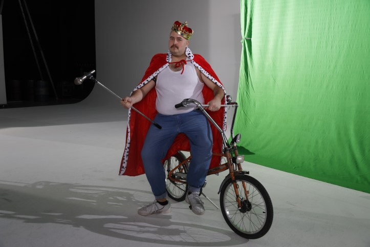 DHG Mr Mercury Videodreh The King on bike 2