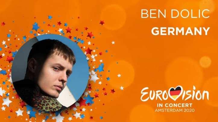 Ben Dolic Eurovision in Concert Amsterdam Deutschland ESC 2020 Eurovision Violent Thing