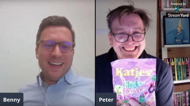 ESC kompakt LIVE Benny Peter Katjes Glücksgefühle YouTube Livestream