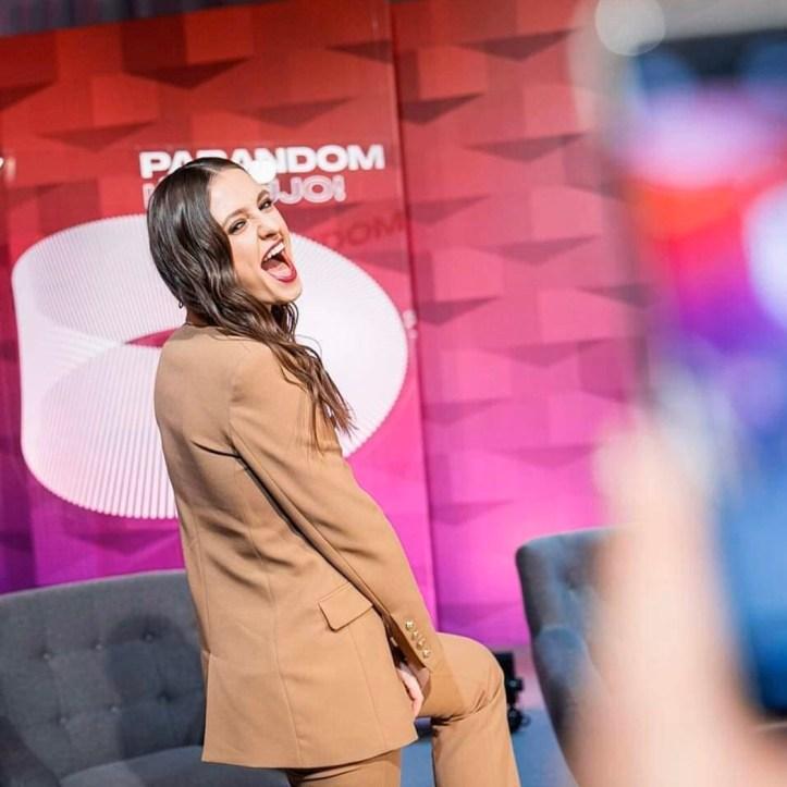 Pabandom Is Naujo Ieva Zasimauskaite Litauen ESC 2020 Eurovision Moderatorin