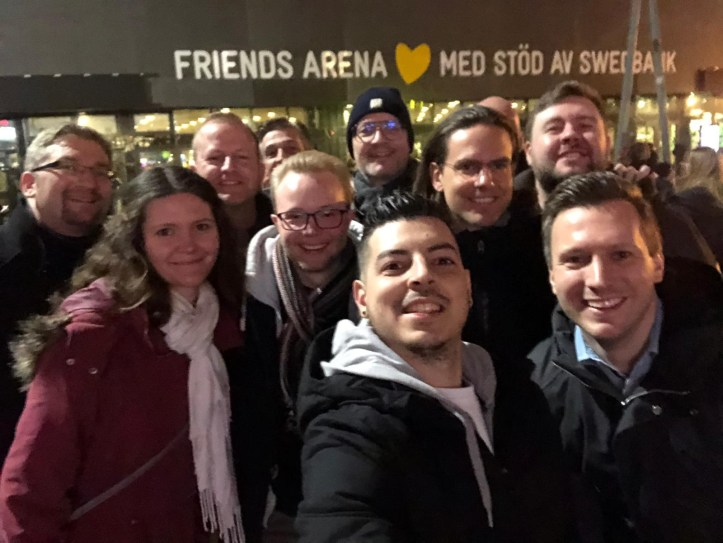 Mello 2020 Team ESC kompakt at Friends Arena