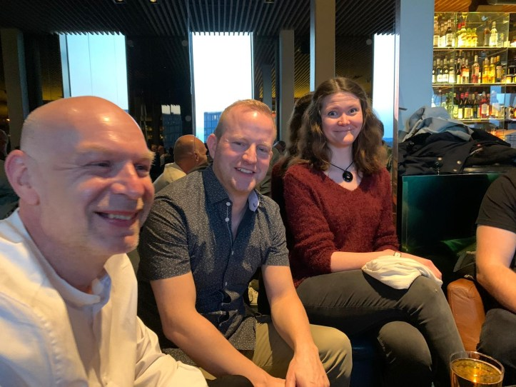 Stockholm ESC kompakt Lesertreffen 2020 Let your spirit fly Rainer Rafa und eine Frau
