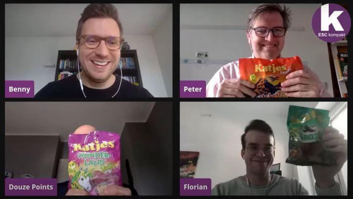 Blogger ESC kompakt LIVE Flo Douze Points Peter Benny