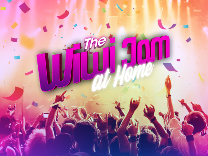 Wiwi Jam 2020 at home Logo