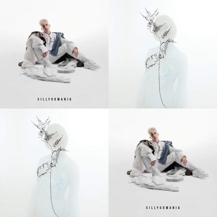 Loïc Nottet Blanche Empire Sillygomania Album Cover CD Kritik Belgien ESC Eurovision