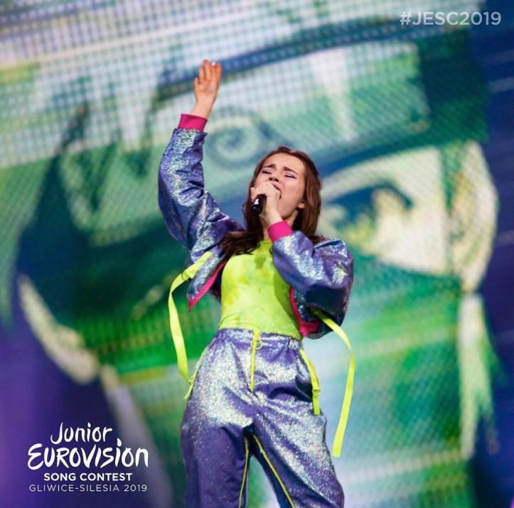 Liza Misnikowa Weißrussland JESC 2019 Junior Eurovision Sing Contest