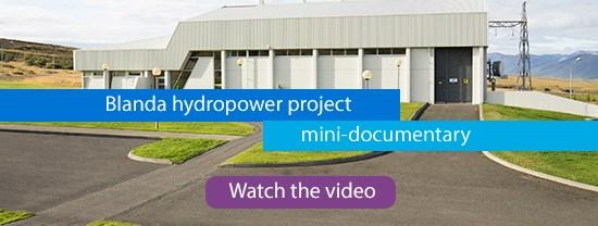Blanda hydropower project: IHA Blue Planet Prize winner 2017, IHA Press Note, 9 May 2017
