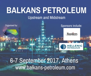 Balkans Petroleum Forum, UK – IN-VR Oil & Gas, 3rd-4th October 2017, Athens, Greece